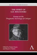 The Spirit of Luc Boltanski [Pdf/ePub] eBook