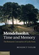 Mendelssohn, Time and Memory