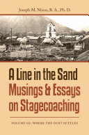 A Line in the Sand Musings & Essays on Stagecoaching Pdf/ePub eBook