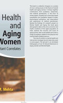 Mental Health And Aging Women Book PDF