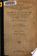 The Report of the Special Agents of the House Committee on Expenditures in the Department of Commerce Upon the Condition of the Fur seal Herd of Alaska and the Conduct of the Public Business on the Pribilof Islands