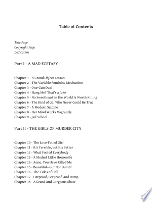 Free Download The Girls of Murder City PDF - Writers Club