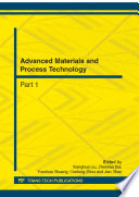 Advanced Materials and Process Technology Book