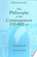 The Philosophy of the Commentators, 200-600 AD: Physics