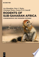 Rodents Of Sub Saharan Africa