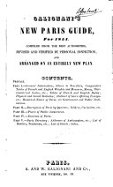 Galignani s New Paris Guide for 1851
