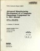 Advanced Manufacturing Development of a Composite Empennage Component for L 1011 Aircraft  Phase 4  Full Scale Ground Test