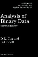 Analysis of Binary Data, Second Edition