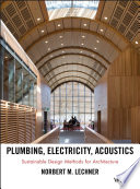Plumbing  Electricity  Acoustics Book