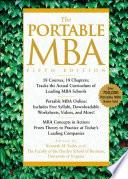 """The Portable MBA"" by Kenneth M. Eades, Timothy M. Laseter, Ian Skurnik, Peter L. Rodriguez, Lynn A. Isabella, Paul J. Simko"