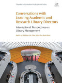 Conversations with Leading Academic and Research Library Directors [Pdf/ePub] eBook