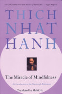 The Miracle of Mindfulness Book