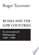 Read Online Russia and the Low Countries For Free