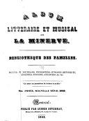 Album littéraire et musical de la Minerve