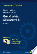 Grundrechte. Staatsrecht II. Mit ebook