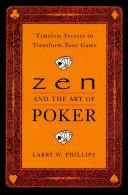 Zen and the Art of Poker Pdf/ePub eBook