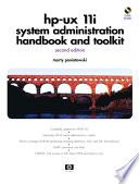 Hp Ux 11i Systems Administration Handbook And Toolkit Book PDF