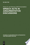 Speech Acts In Argumentative Discussions