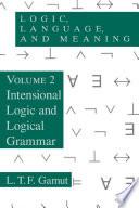 Logic  Language  and Meaning  Volume 2