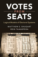 Votes from Seats: Logical Models of Electoral Systems - Seite 330