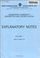 Harmonized Commodity Description and Coding System  Sec  I to VI  ch  1 to 29