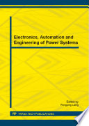 Electronics  Automation and Engineering of Power Systems Book