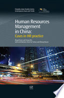 Human Resources Management in China