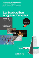 La traduction anglais-français Pdf/ePub eBook