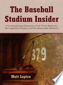 The Baseball Stadium Insider