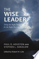 The Wise Leader Book