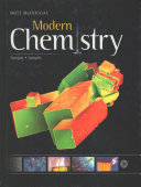 Holt McDougal Modern Chemistry