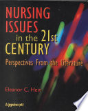 Nursing Issues in the 21st Century Pdf/ePub eBook