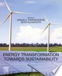 Energy Transformation towards Sustainability Book