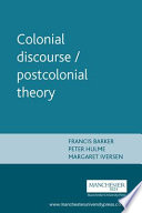 Colonial Discourse/ Postcolonial Theory