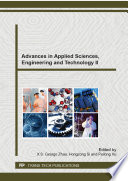 Advances In Applied Sciences Engineering And Technology Ii Book PDF