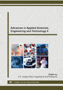 Advances in Applied Sciences, Engineering and Technology II