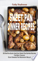 Sheet Pan Dinner Recipes Book PDF