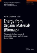 Energy from Organic Materials  Biomass