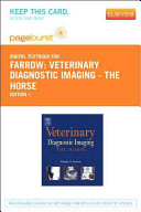 Veterinary Diagnostic Imaging   The Horse