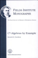 C  algebras by Example