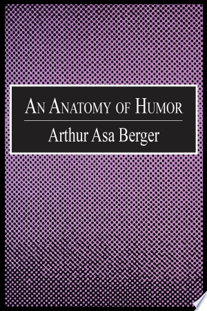 An+Anatomy+of+HumorHumor permeates every aspect of society and has done so for thousands of years. People experience it daily through television, newspapers, literature, and contact with others. Rarely do social researchers analyze humor or try to determine what makes it such a dominating force in our lives. The types of jokes a person enjoys contribute significantly to the definition of that person as well as to the character of a given society. Arthur Asa Berger explores these and other related topics in An Anatomy of Humor. He shows how humor can range from the simple pun to complex plots in Elizabethan plays.Berger examines a number of topics?ethnicity, race, gender, politics?each with its own comic dimension. Laughter is beneficial to both our physical and mental health, according to Berger. He discerns a multiplicity of ironies that are intrinsic to the analysis of humor. He discovers as much complexity and ambiguity in a cartoon, such as Mickey Mouse, as he finds in an important piece of literature, such as Huckleberry Finn. An Anatomy of Humor is an intriguing and enjoyable read for people interested in humor and the impact of popular and mass culture on society. It will also be of interest to professionals in communication and psychologists concerned with the creative process.
