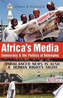 Read OnlineAfrica's MediaFull Book