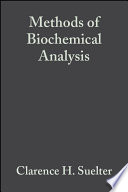 Methods Of Biochemical Analysis Biomedical Applications Of Mass Spectrometry Book PDF