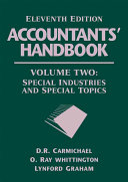 Accountants Handbook Volume 2