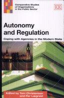 Autonomy and Regulation