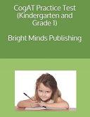 Cogat Practice Test  Kindergarten and Grade 1  Book