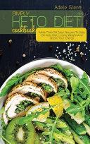 Simply Keto Diet Cookbook Book