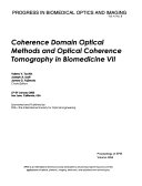 Coherence Domain Optical Methods and Optical Coherence Tomography in Biomedicine