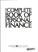 The Complete Book of Personal Finance