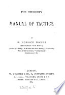 The student's manual of tactics